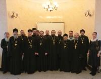 Священники Томского района посетили собрание благочиния