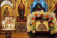 Храм святого благоверного Александра Невского отметил престольный праздник