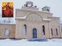 В Томской области возводится храм в честь великомученицы Екатерины