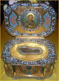 Мощи св. апостола Андрея Первозванного прибывают в Томск 29 сентября