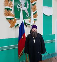 Священник Томской епархии принял участие во встрече губернатора Томской области с членами Общественной палаты