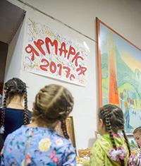В храме св. Александра Невского прошла благотворительная ярмарка «Младенец – дар Небес»