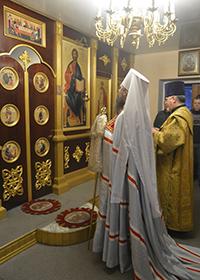 Храм святителя Николая в Семилужках отметил престольный праздник