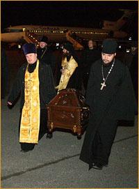 Мощи апостола Андрея Первозванного доставлены в Томск
