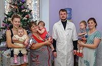 В Святочные дни пациенты больниц разделили радость Рождества Христова