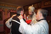 Праздничная Божественная литургия в исправительной колонии
