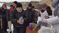 «Ради Христа»: прошла праздничная благотворительная акция «Горячий обед»