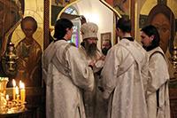 Митрополит Ростислав совершил диаконскую хиротонию