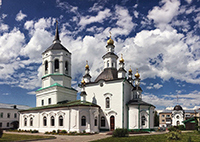 Архиерейские богослужения в день памяти святого праведного Феодора Томского