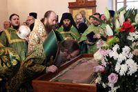 Торжественные богослужения в день памяти святого праведного старца Феодора
