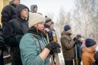 Томская молодежь приняла участие в подготовке к городской панихиде на Каштачной горе