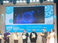 Храм в с. Тимирязевское победил в городском конкурсе на новогоднее оформление