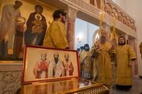 В Богородице-Алексиевском монастыре совершена литургия на греческом языке