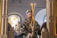 Митрополит Ростислав совершил первую в этом году Литургию Преждеосвященных Даров