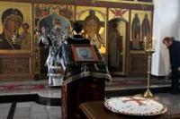 Освящение колива в память великомученика Федора Тирона