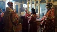 Престольный праздник придела в честь Харалампия Магнезийского, отметили в Свято-Троицком храме