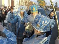 Томск встретил Честную Ризу Пресвятой Богородицы