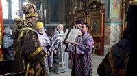 Престольный праздник придела в честь первого и второго обретения главы Иоанна Предтечи, отметили в Петропавловском соборе г. Томска
