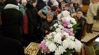 Ученики православной гимназии поклонились Честной Ризе Пресвятой Богородицы