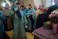 Молебны с акафистом перед ковчегом с частицей Ризы Пресвятой Богородицы (расписание)