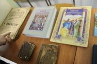 В ВК-2 открылась выставка православных книг