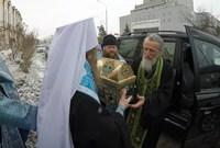 Томичи проводили Честную Многоцелебную Ризу Пресвятой Богородицы