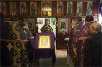 Глава Томской митрополии совершил Божественную Литургию в храме при Томской областной клинической больнице