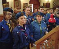 Состоялся весенний лагерь православных следопытов Томской епархии