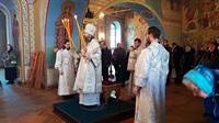 Глава Томской митрополии совершил Божественную Литургию в Богоявленском кафедральном соборе г. Томска