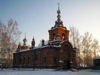В Великий Вторник Глава Томской митрополии совершил богослужение в Петропавловской церкви г. Томска