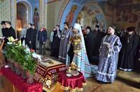 В Великую Субботу и праздник Благовещения Глава Томской митрополии совершил богослужение в Богоявленском кафедральном соборе