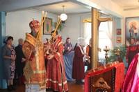 В среду Светлой седмицы Глава Томской митрополии совершил богослужение в с. Мельниково