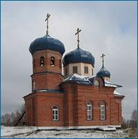 19 октября 2008г. в с.Черемушки Чаинского района состоялось освящение новосооруженного храма