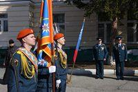 Представитель Томской епархии поздравил новобранцев МЧС с принятием присяги