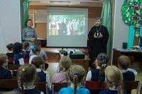 В Знаменском храме подвели итоги взаимодействия с общеобразовательными школами.