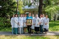 Бригада православных врачей из Томска провела выездной прием в селе Ново-Кусково