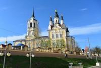 На телеканале Томское время вышла передача про историю Воскресенской церкви.