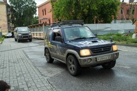 Автомобильный крестный ход из Магадана, посвященный царской семье, сделал остановку в Томске.