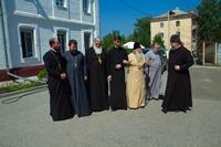 Пребывание архиепископа Уральского и Актюбинского Антония в г. Томске
