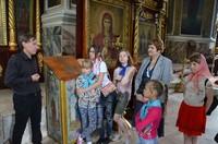 Дети из социального центра «Огонек» посетили Храм
