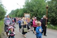 Торжества в честь престольного праздника и 1030-летия крещения Руси прошли в Заречном сельском поселении