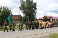 В день памяти пророка Божия Илии крестный ход прошел по улицам села Первомайское.