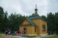 Митрополит Ростислав возглавил Божественную литургию в с.Зырянское