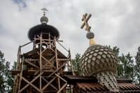 Престольный праздник строящегося храма отметили в Нащеково