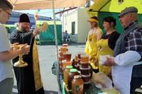На ярмарке «Медовый спас» освящен мёд нового урожая.