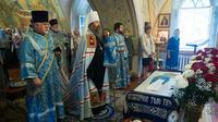 Престольный праздник отметили в нижнем приделе Воскресенского храма.