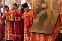 Престольный праздник отметили в Богородице-Алексиевском монастыре.