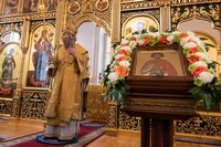 Храм св. Александра Невского отметил престольный праздник.