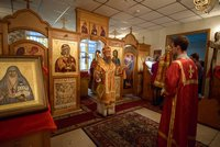 Митрополит Ростислав возглавил Божественную литургию в храме при Кардиоцентре в Томске