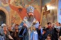 Всенощное бдение в канун праздника Рождества Пресвятой Богородицы в Богоявленском соборе.